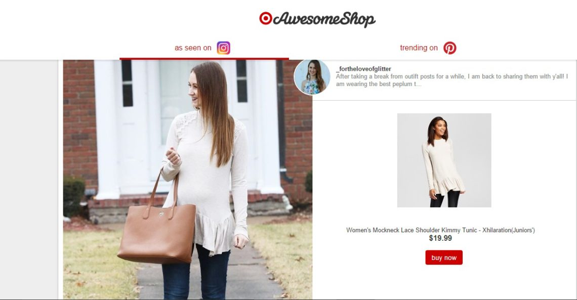 Awesome Shop, Target, Target style, peplum top