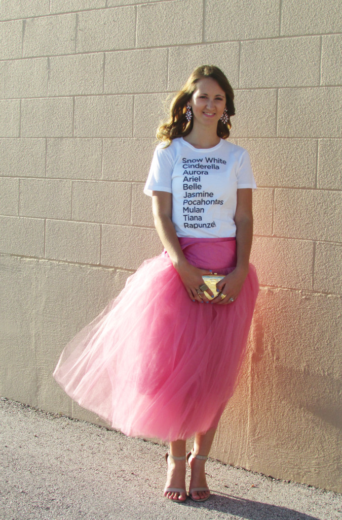 Shabby Apple tulle skirt, Cake Worthy t-shirt