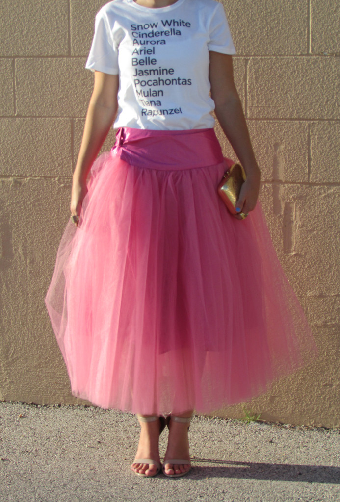 pink tulle skirt, Shabby Apple, fairytale princess
