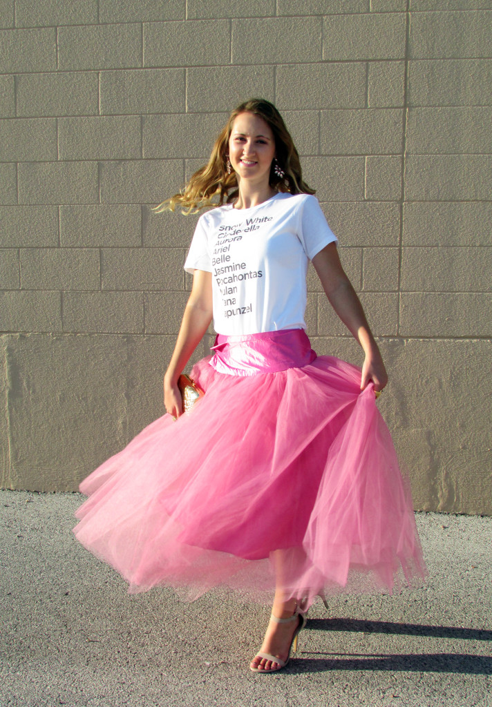 Shabby Apple tulle skirt, twirl