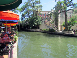 San Antonio River Walk, water, summer