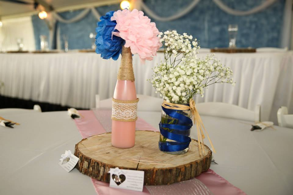 lace, flowers, navy blue, pink, decorations