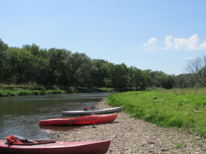 canoes, kayak, Decorah, Iowa