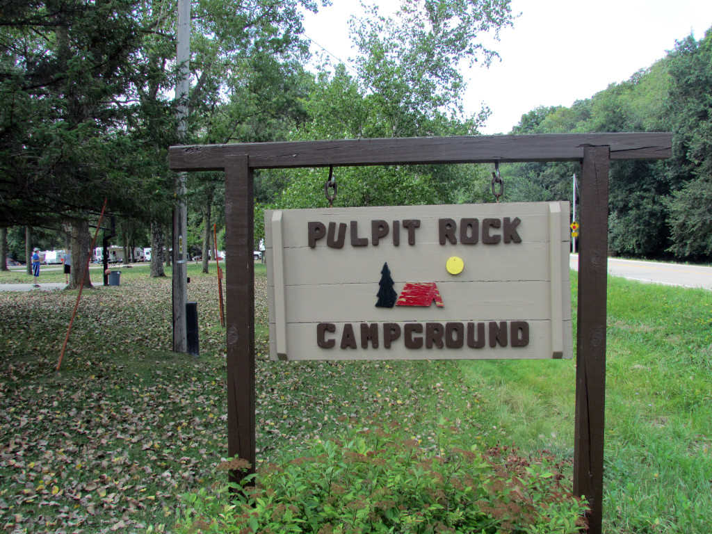 Pulpit Rock Campground, Decorah, Iowa