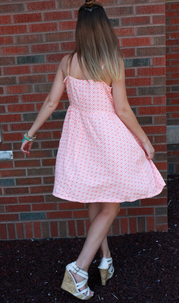 summer dress, Old Navy, spin