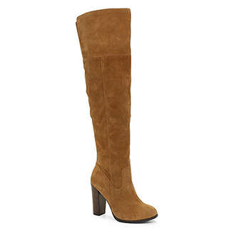 suede, knee high boots, cognac, Aldos, fall boots