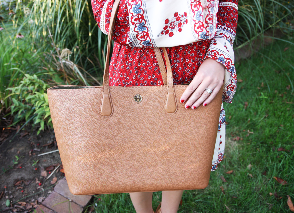 Tory Burch bag, perry tote