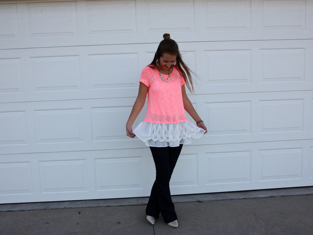 twirl, lace top, Love Me Apparel