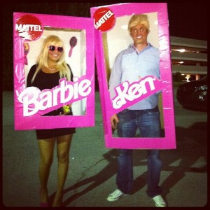 Ken, Barbie, Halloween costume