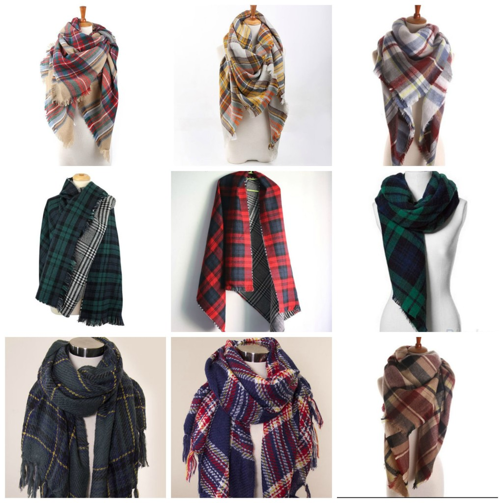 Luxe Statements, Brina Box, plaid, blanket scarves