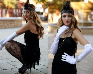 diy costume, flapper, Great Gatsby