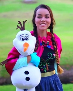 princess Anna, Frozen, diy Halloween costume