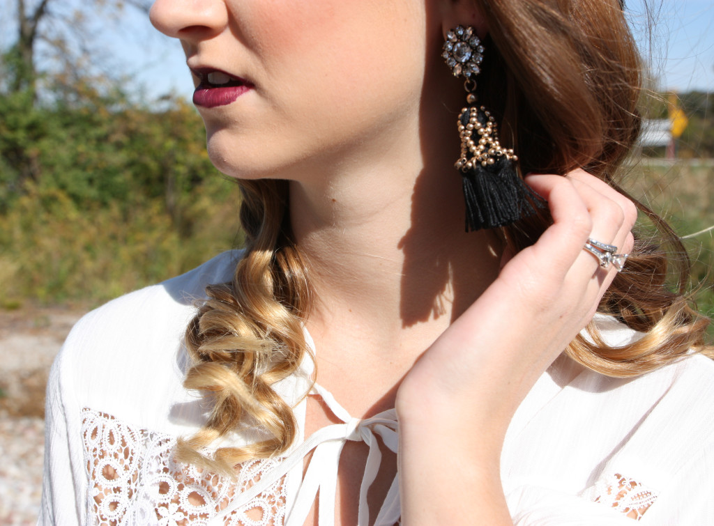 Happiness Boutique, tassel earrings