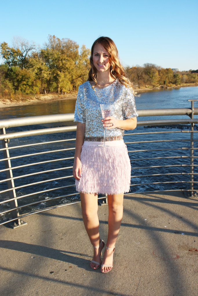 Express skirt, Nasty Gal top, 21st birthday