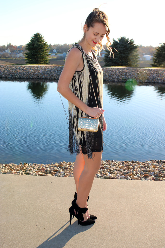 fringe, party look, Venus, dress