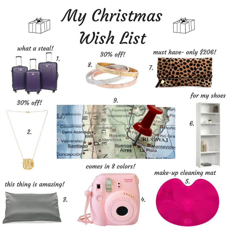 gift guide, my Christmas wish list