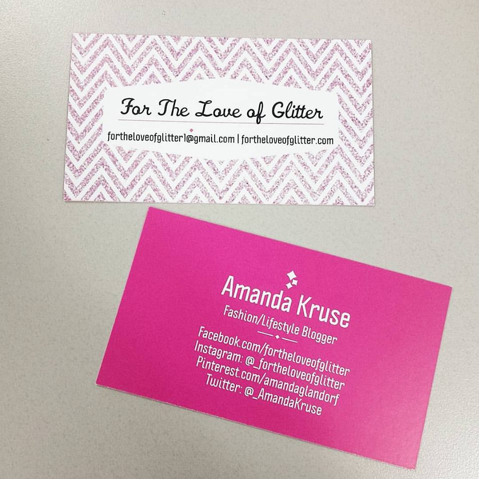Vista Print, blog business cards
