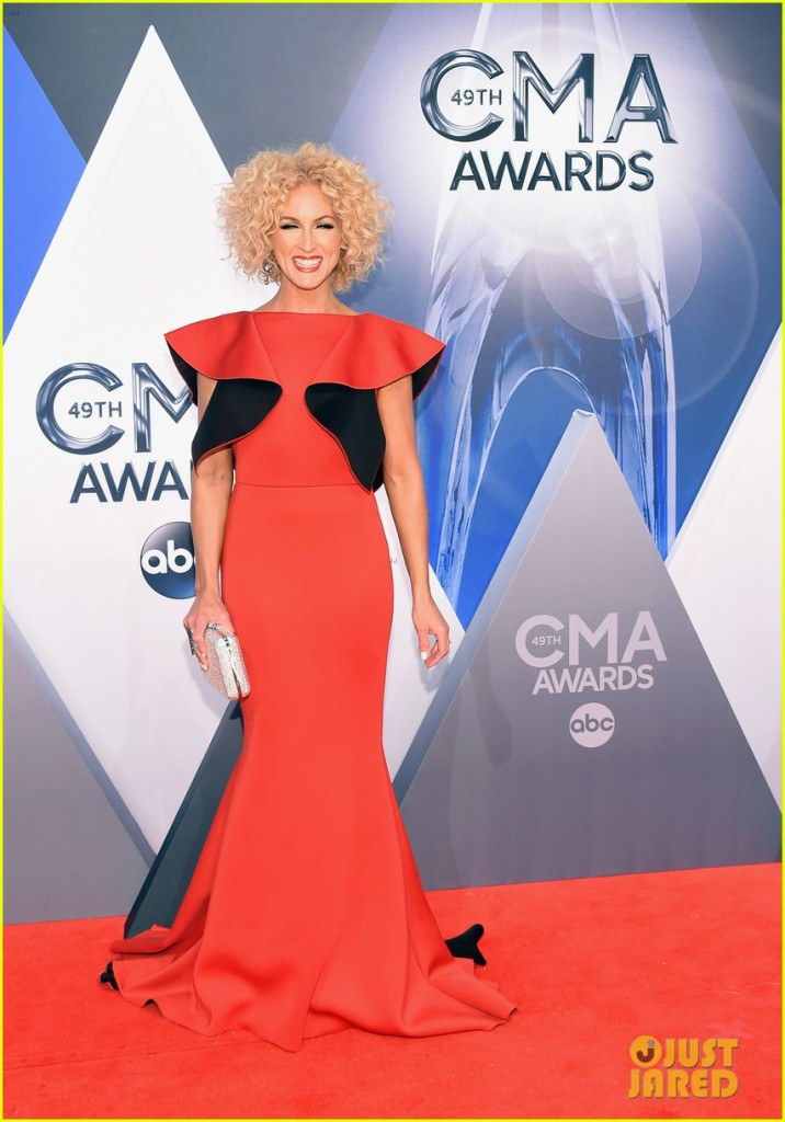 Kimberly Schlapman, red carpet, CMA's