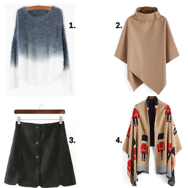 four favorites from SheIn