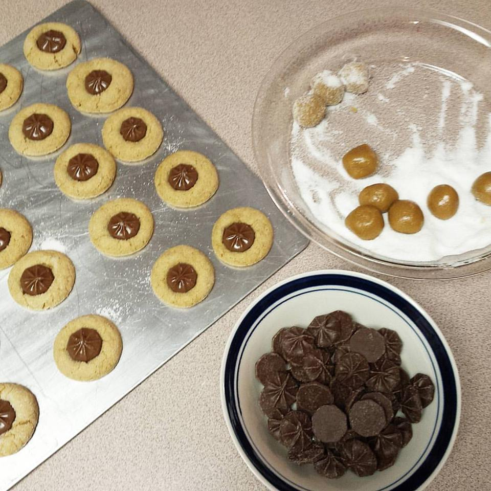 baking, star Christmas cookies