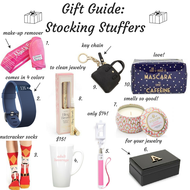 gift guide, stocking stuffers