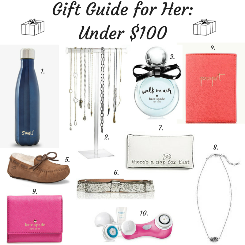 gift guide for her, under $100