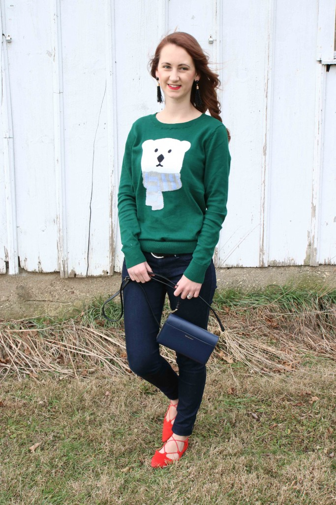 Loft, polar bear sweater
