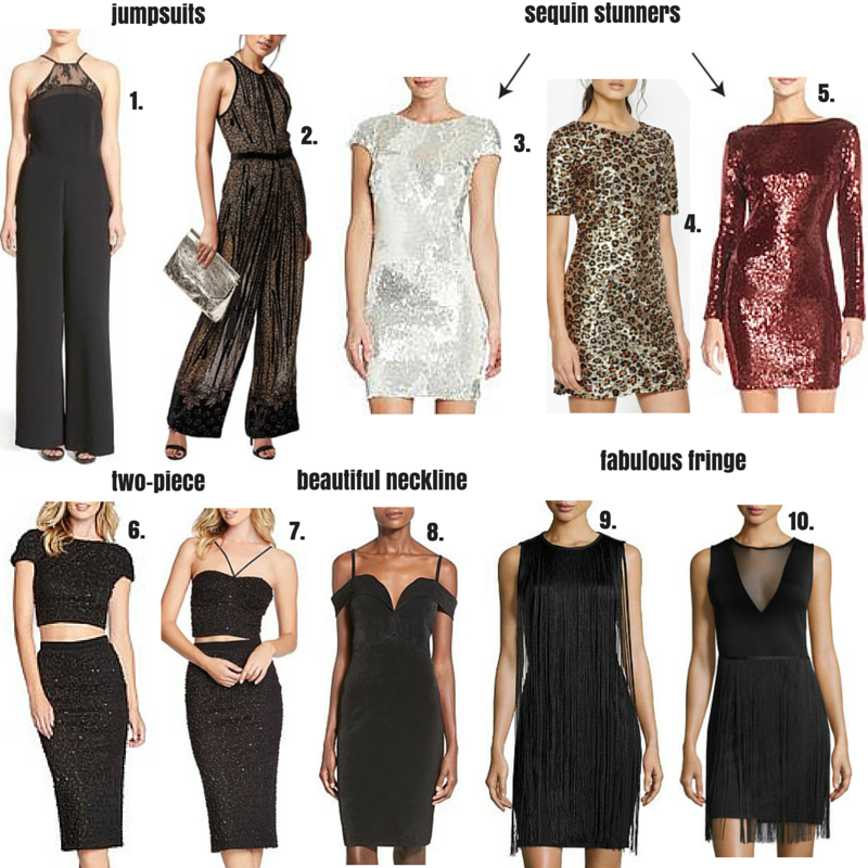 New Year's Eve Dresses & Shoes