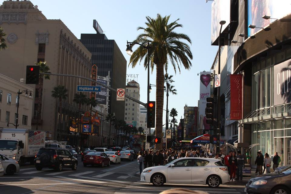 downtown Hollywood, California