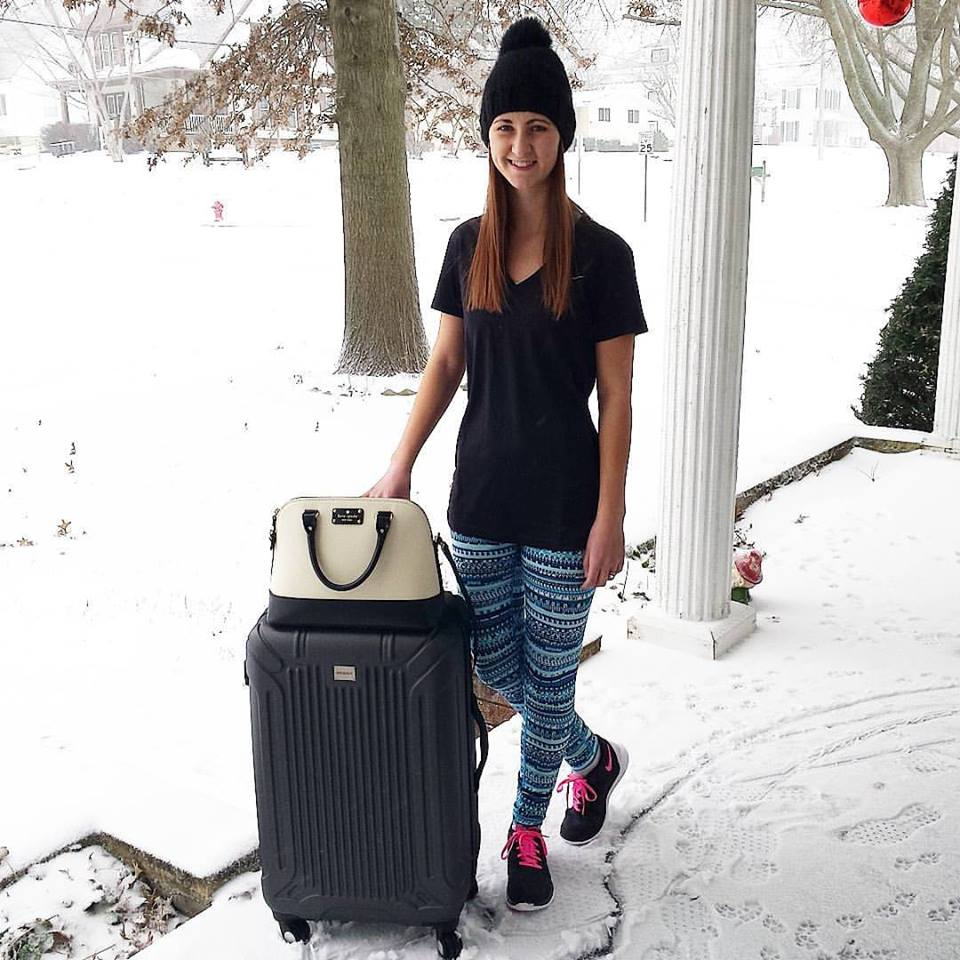Nike athletic wear, Kohl's suit cases, Express hat