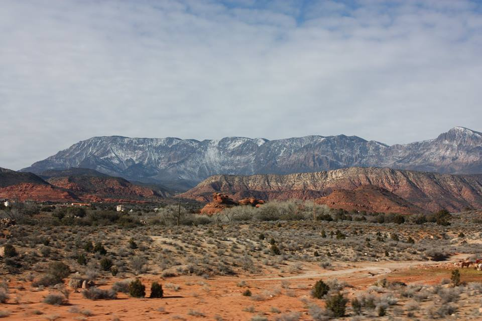 Hurricane, Utah, red rock