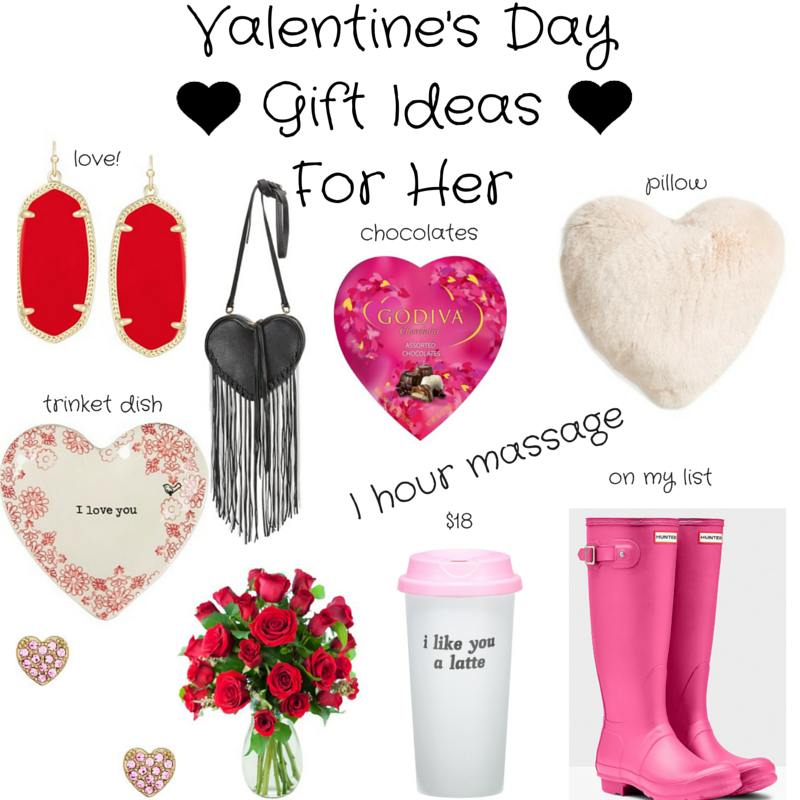 Valentine's Day gift ideas for her, xoxo