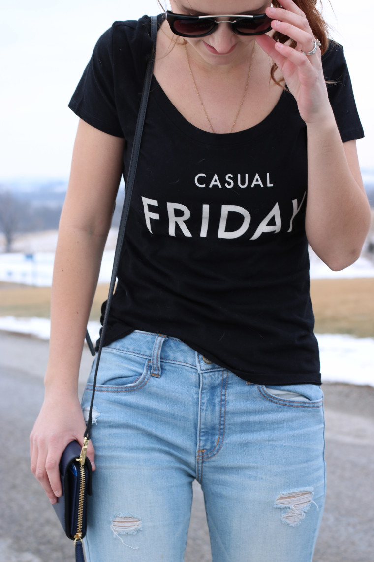 Express casual Friday tee