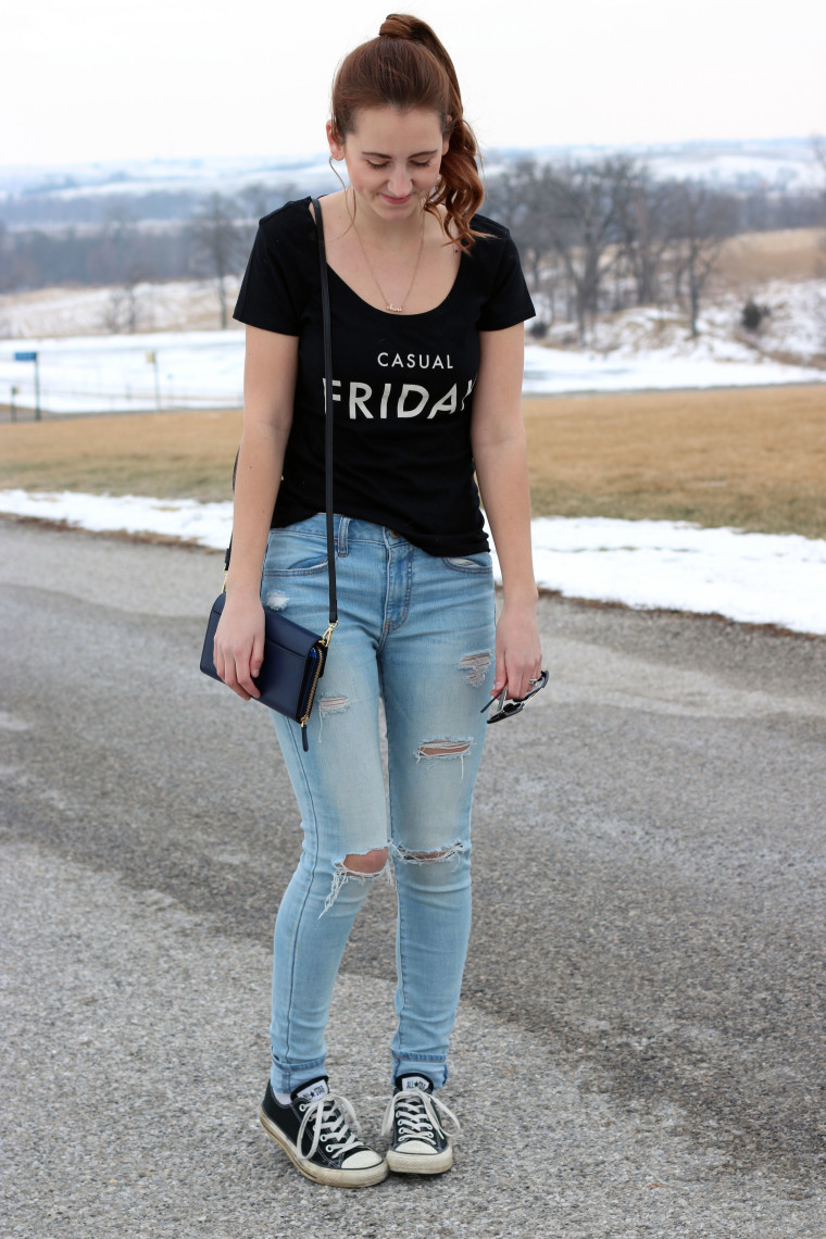 casual look, Friday, TGIF, Express