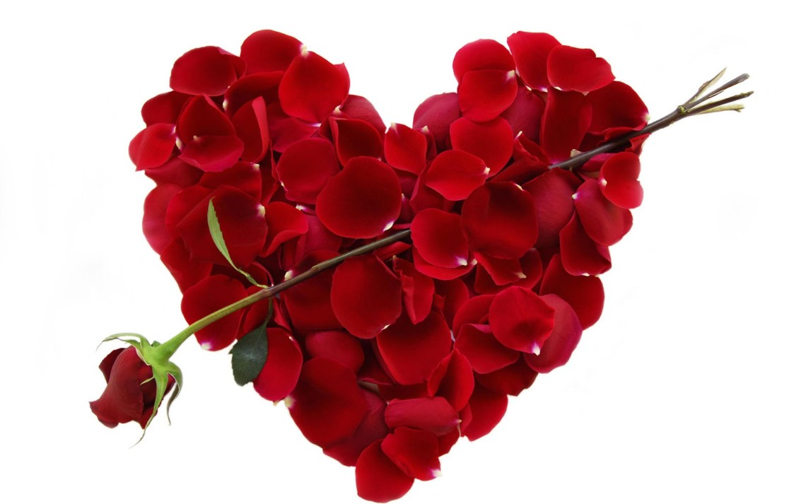 Valentin's Day date ideas, red roses