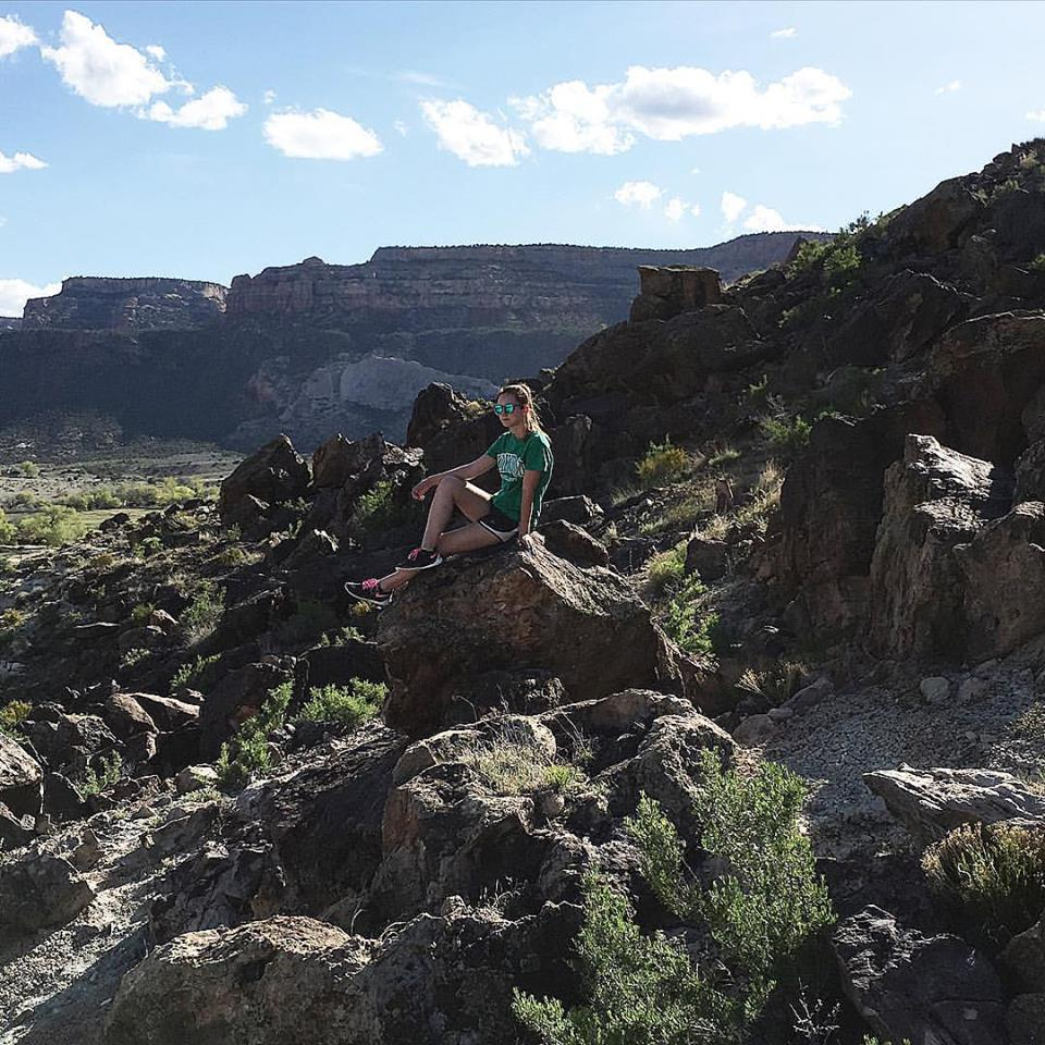 Riggs Hill, Grand Junction Colorado, rocks, travel blogger