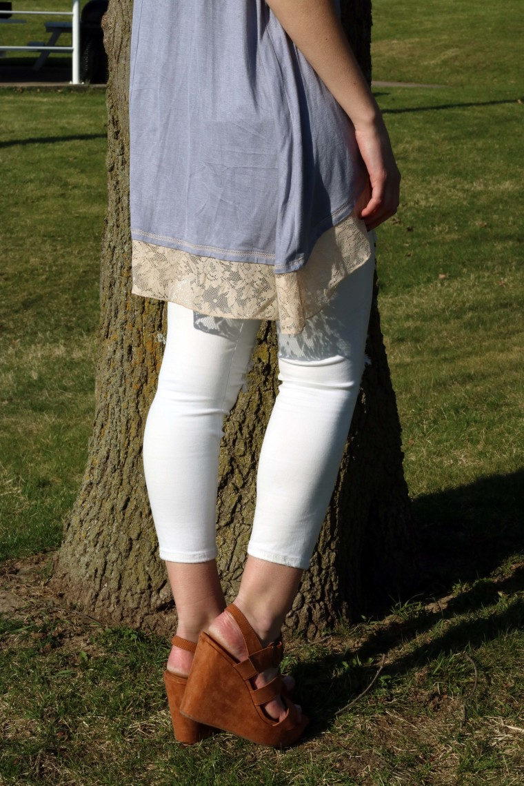 Target suede wedges, spring look, Rosemary Avenue Boutique, Colorado Boutique