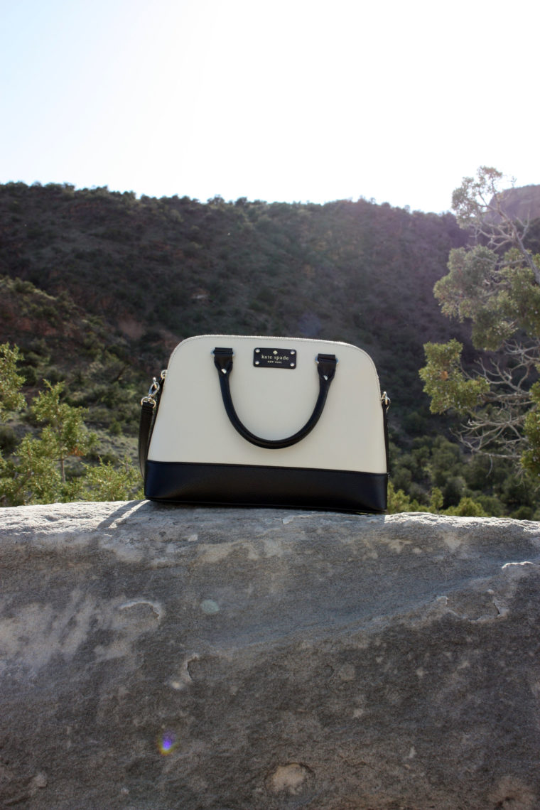 Colorado National Monument, Grand Junction, Colorado, Kate Spade tote