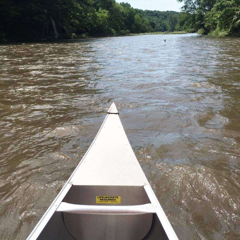 canoeing, Decorah, Iowa, river, camping, summer, travel more