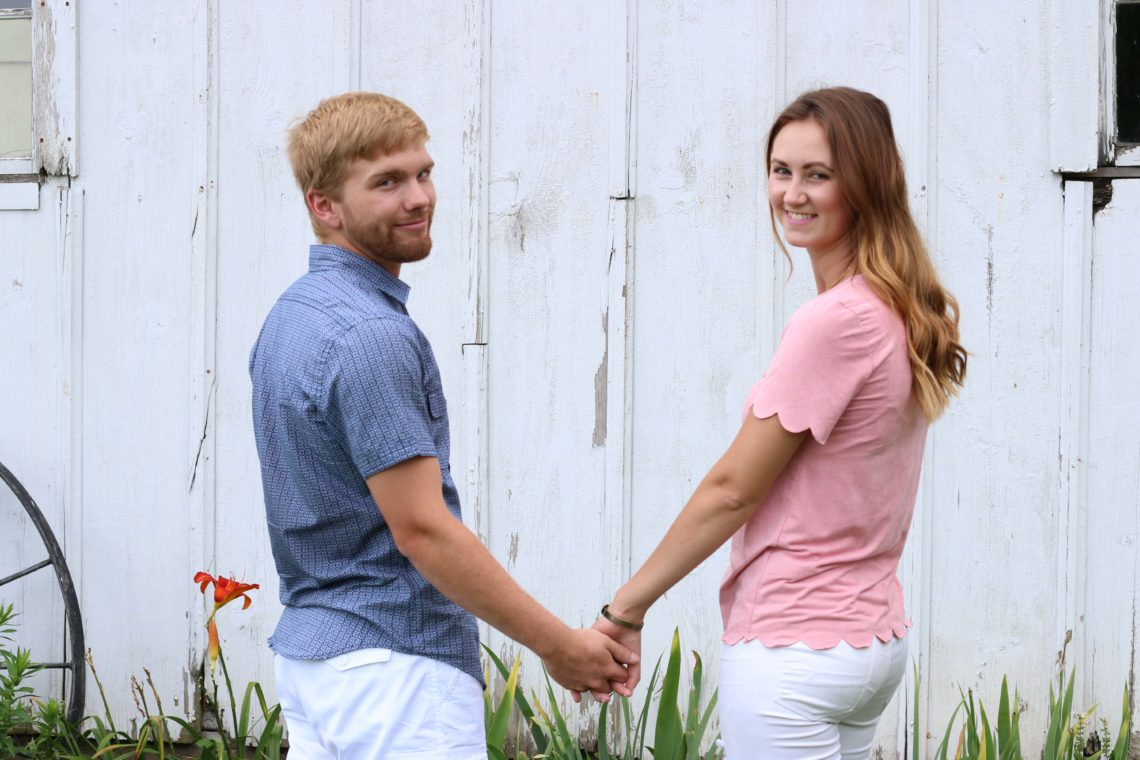 holding hands, love, wedding anniversary, July 26, 2014, Gavin and Amanda, barn photos