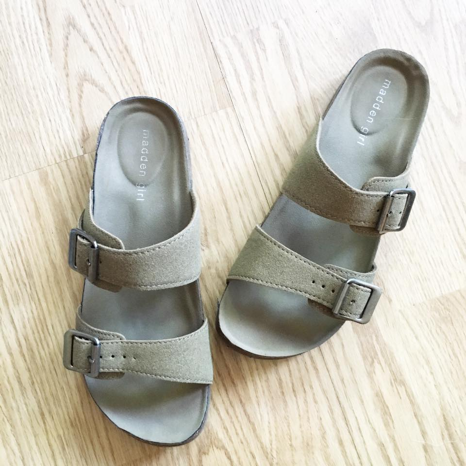 Madden Girl sandals, comfy, Younkers