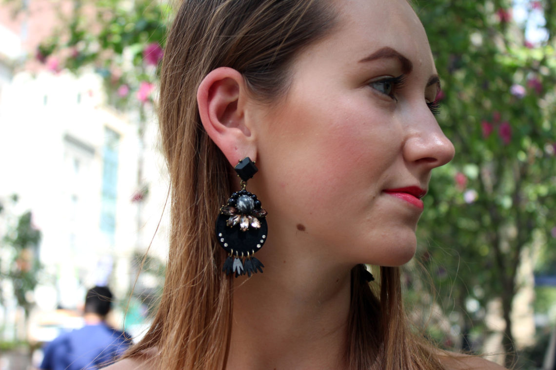 swatstyle, baublebar, statement earrings, nyfw