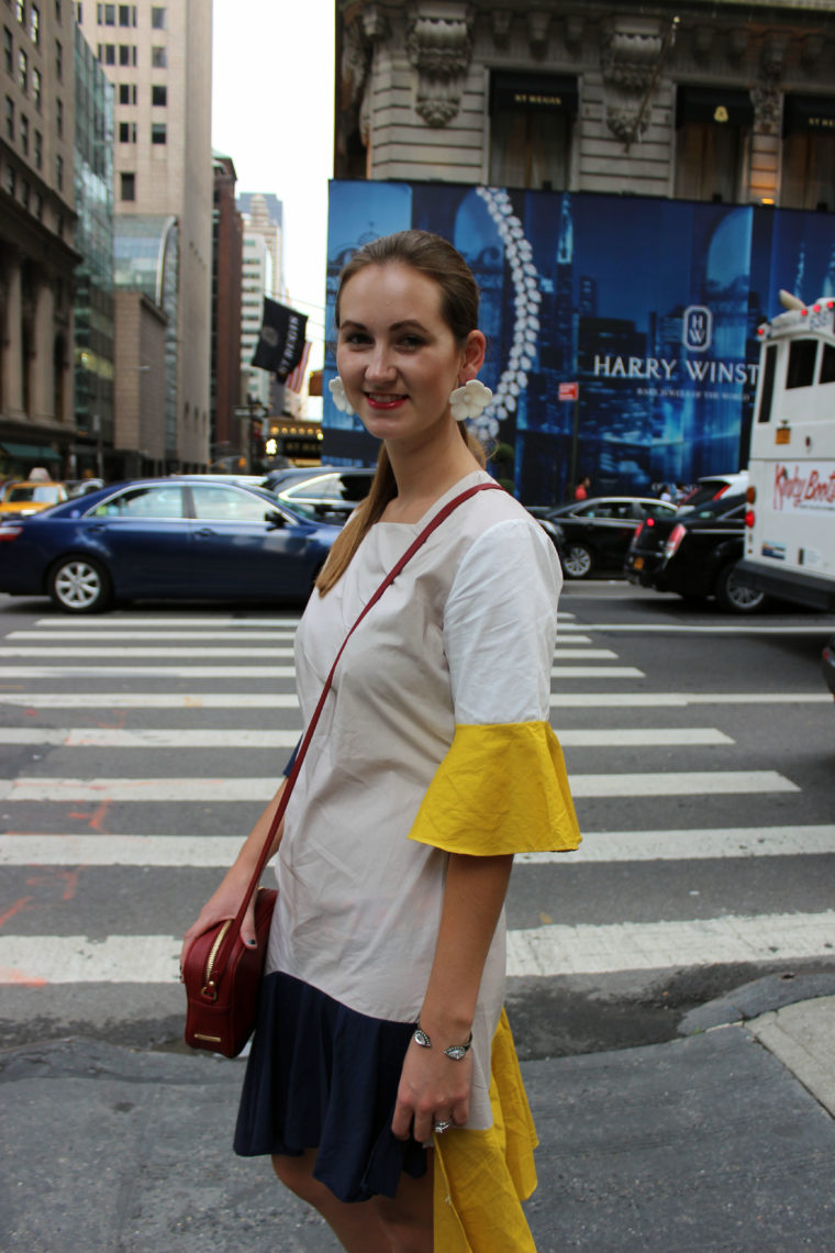 bell sleeves. nyfw, New York, Storets, Rebecca Minkoff
