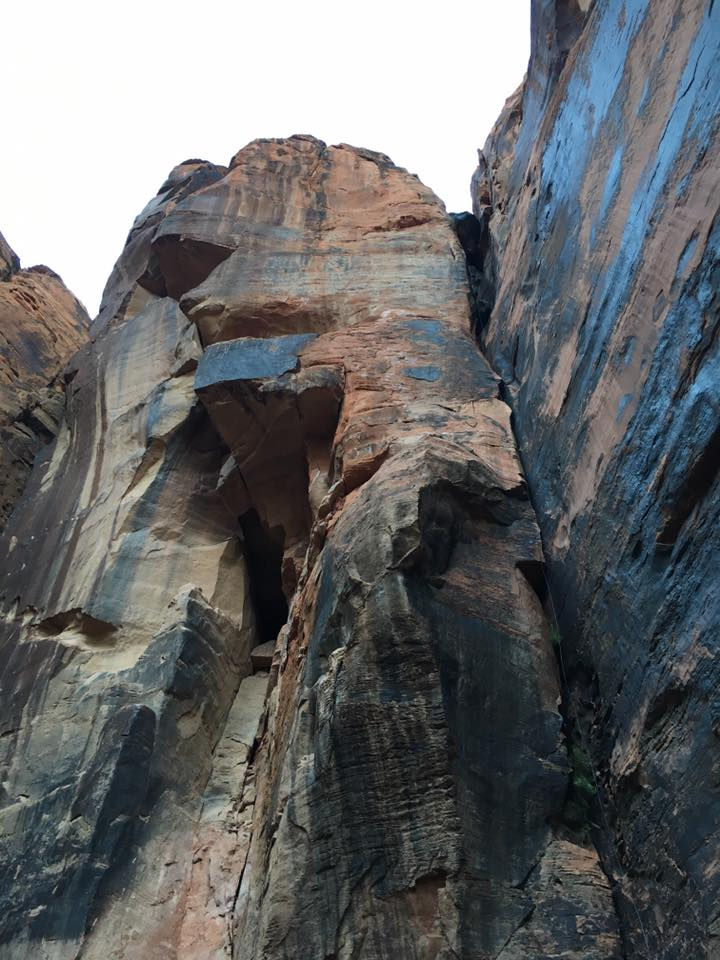 canyon, rappelling, St. George Utah