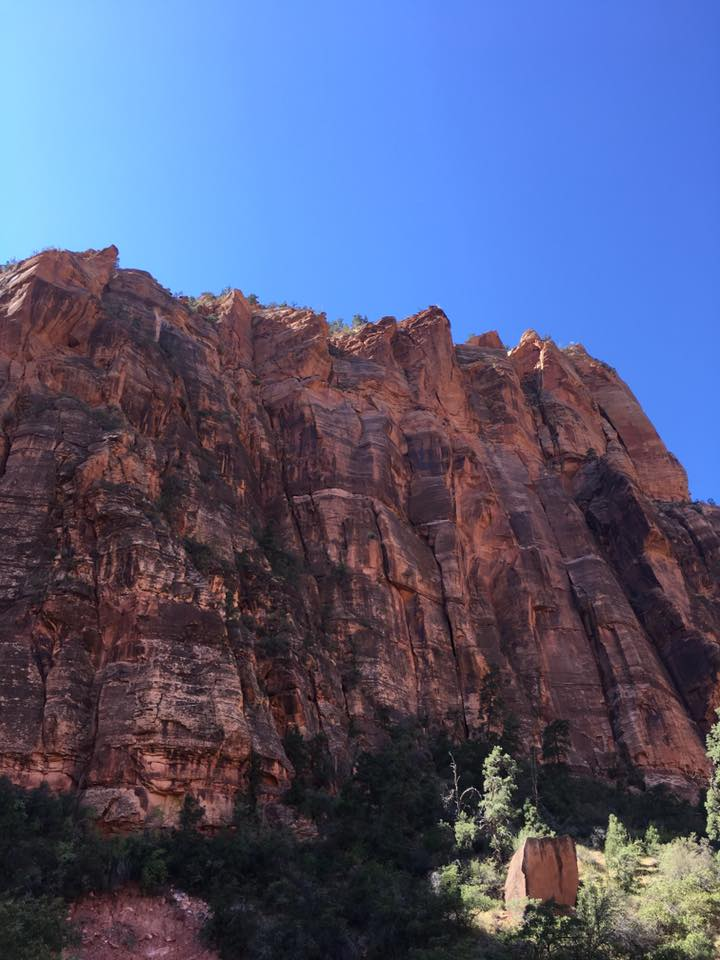 canyon, cliffs, Zion National Park, Utah