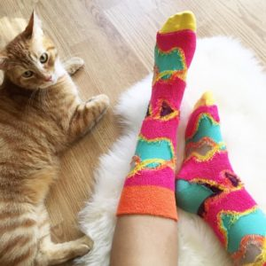happy socks, happy socks official, happiness is everywhere, yellow cat, twinkie