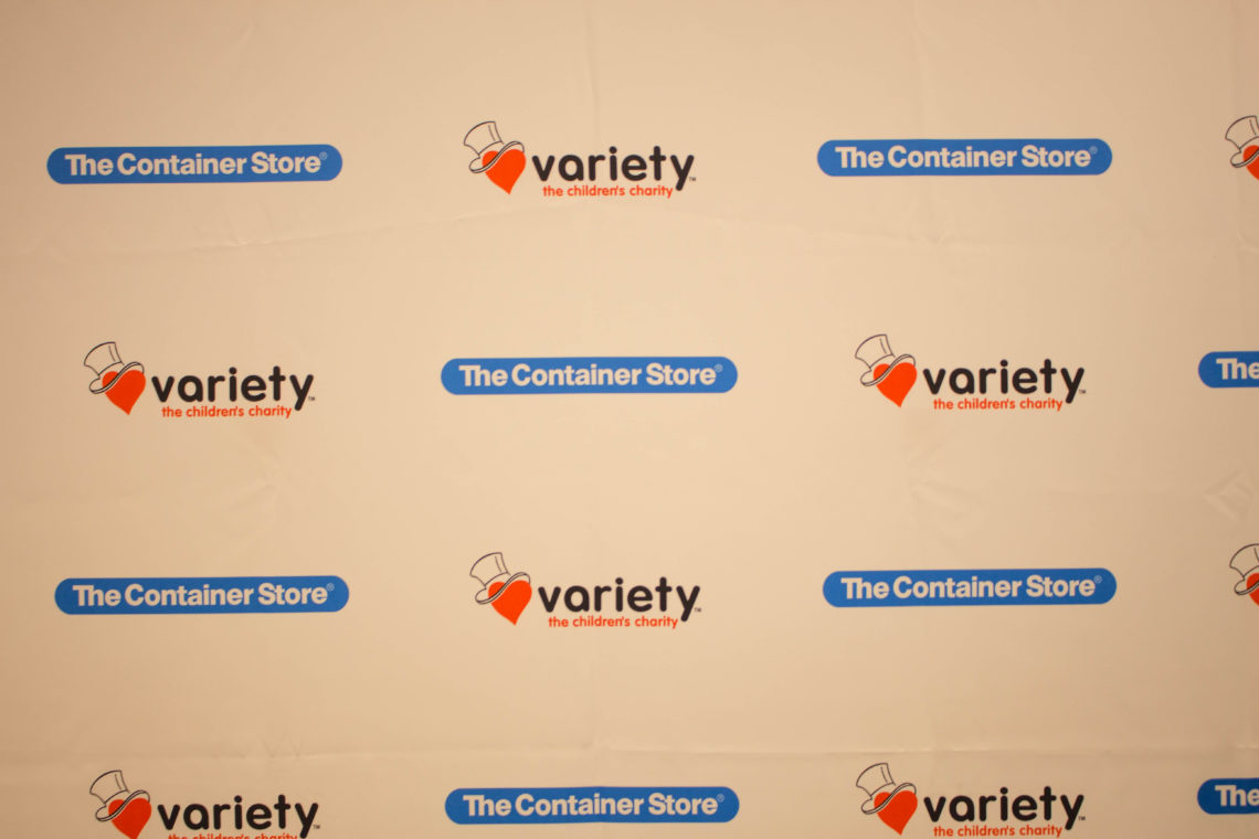The Container Store, Des Moines, Iowa, Variety - The Children's Charity, grand opening