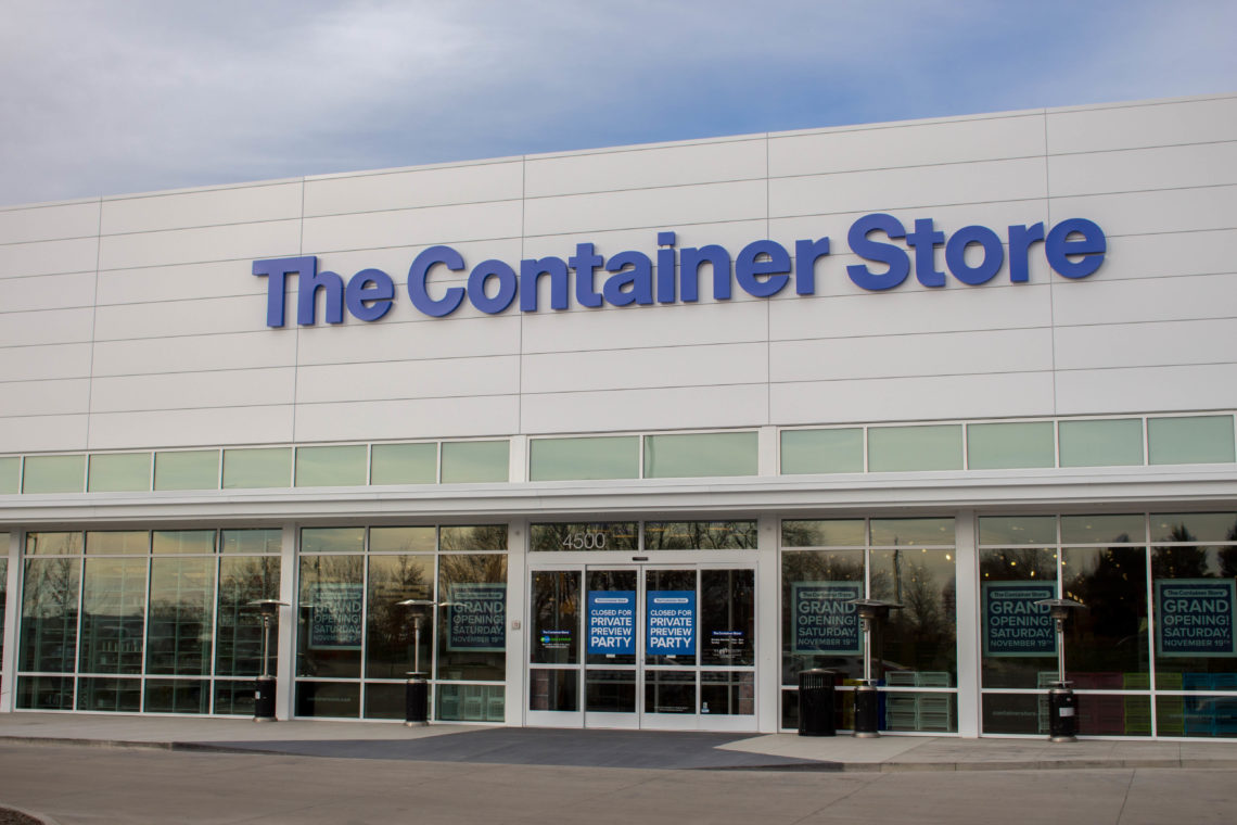 The Container Store, Grand Opening, Des Moines, Iowa, contain yourself