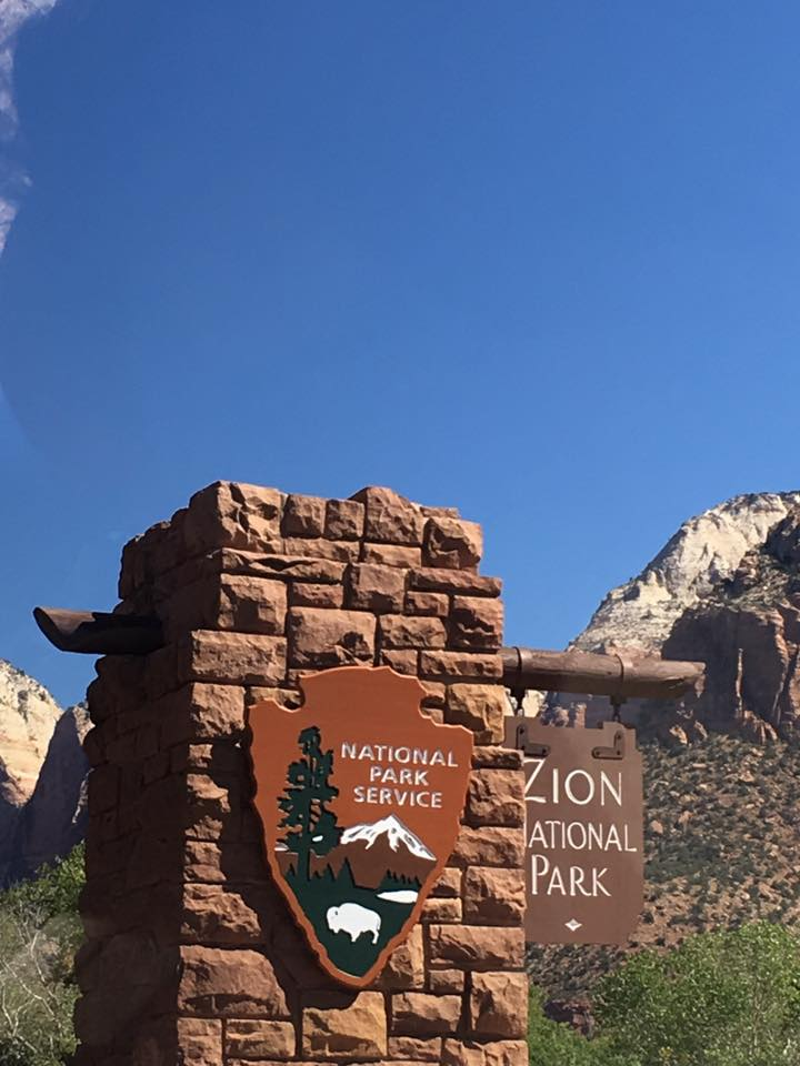 Zion National Park, Utah, sight seeing