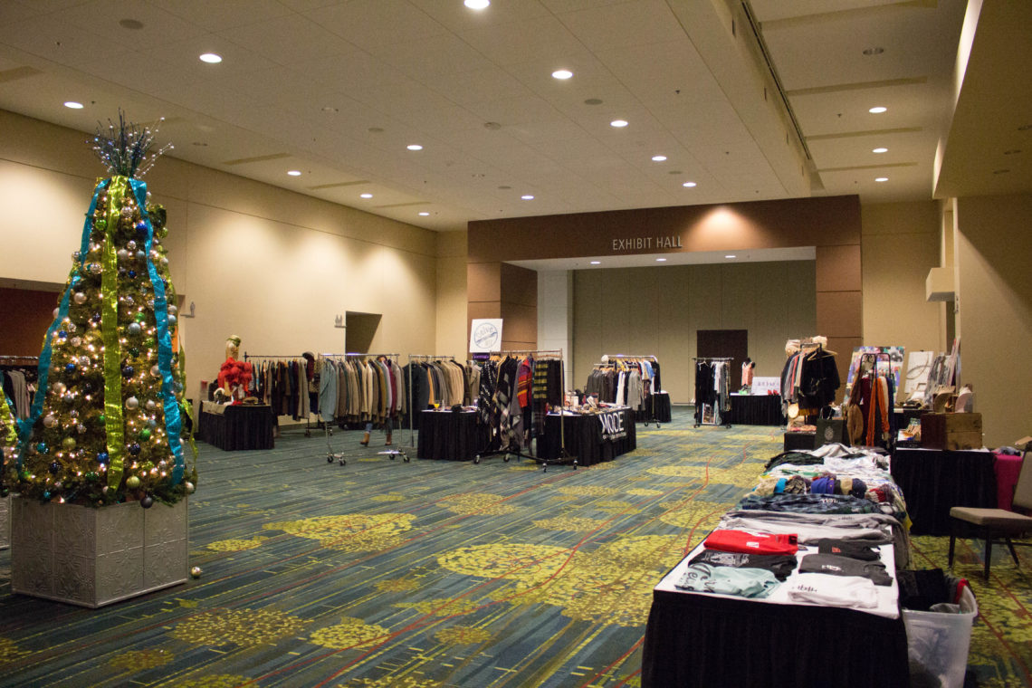 vendors, Sleigh The Runway, Iowa fashion show